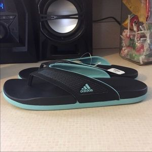 Adidas flip flops NWT